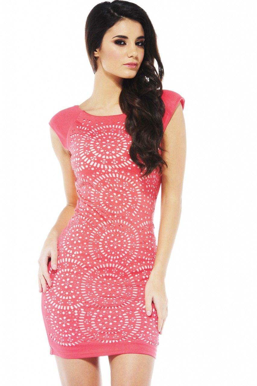 Front Laser Cut Dress | Dresses | Pinterest