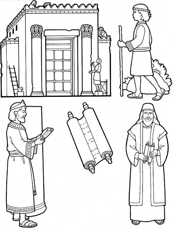 Bible Coloring Pages Of King Nebuchadnezzar
