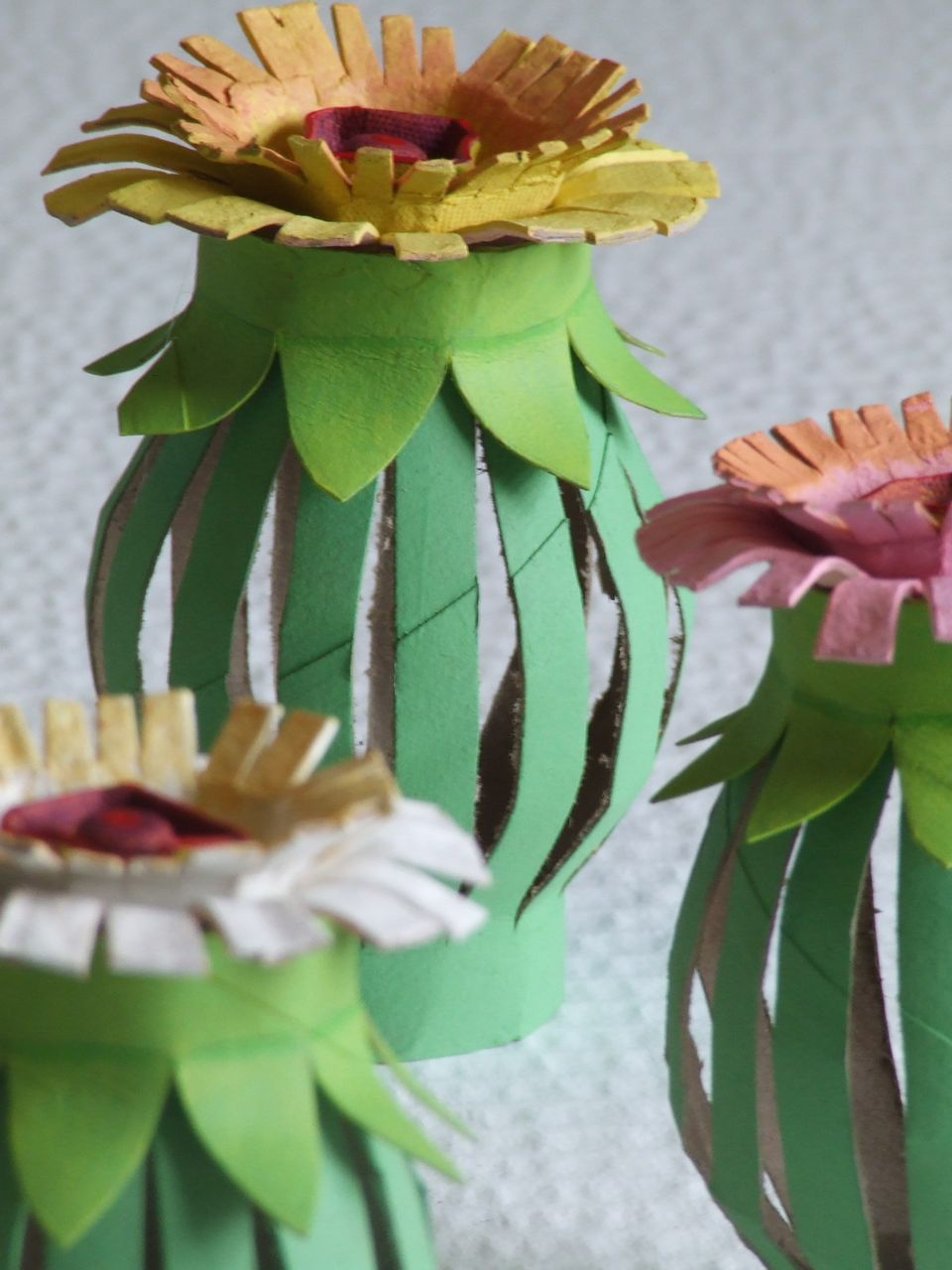 Tutorial Toilet Paper Roll Egg Carton Flowers Toilet Paper Roll