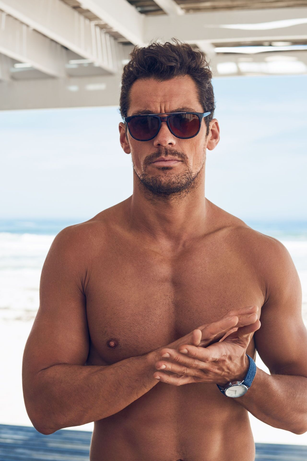 d986a6d871df5 A few more amazing shots of David Gandy's Gandy for Autograph S/S 2016 swim  shorts for Marks and Spencer. Shop the collection HERE Photos by Tomo Brejc