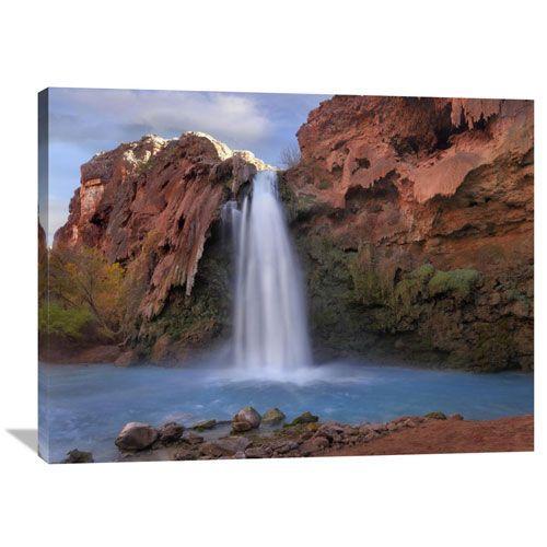 Havasu Falls, Grand Canyon, Arizona By Tim Fitzharris, 30 X 40-Inch Wall Art