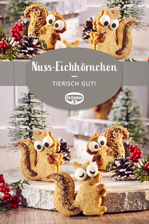 Nuss-Eichhörnchen #thanksgivingfood