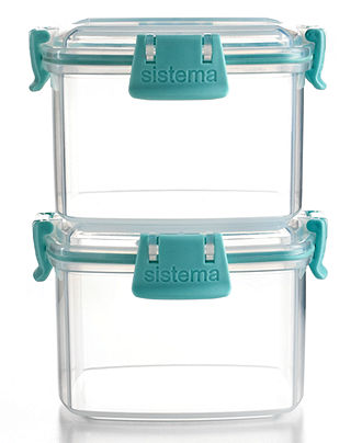Martha Stewart Collection Food Storage Containers Set of 2 Square