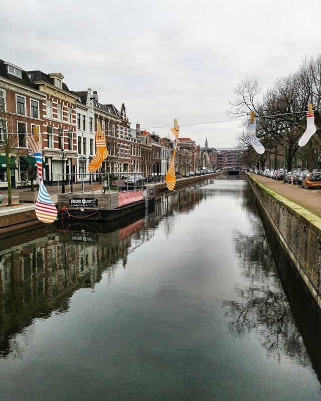 Je reviens tout juste d'une petite échappée à La Haye la