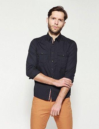 Koszula Giger Lg Koszula Koszula Meska Koszule Jeansowe