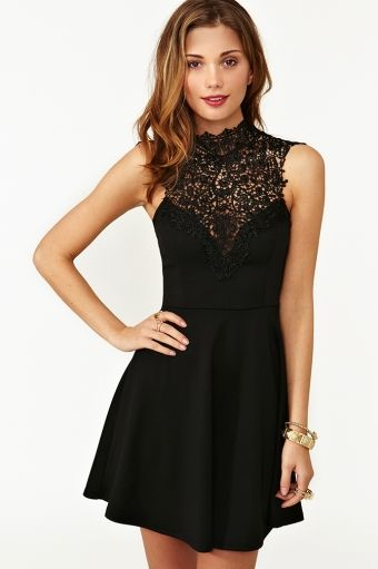 Just arrived in my closet and I absolutely love it. Tied Crochet Skater Dress