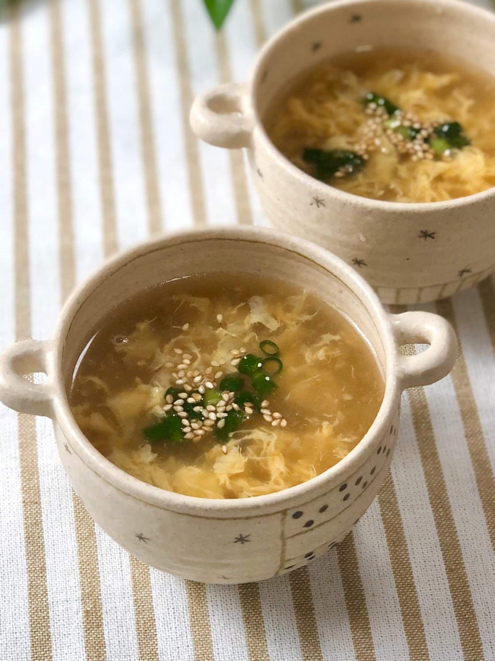 もう迷わない 丁度いい配合 中華料理店のたまごスープ レシピ