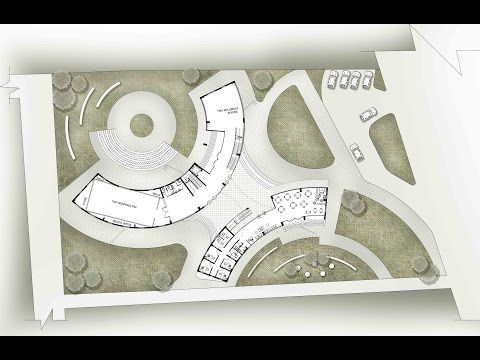 30 Easy Plan Render Architectural Rendering Youtube Presentation Board Design Easy Photoshop How To Plan