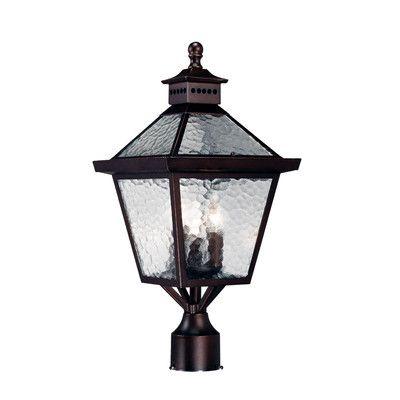 Acclaim Lighting Bay Street 3 Light Outdoor Post Lantern Post Mount Lighting Lamp Post Lights Post Lights