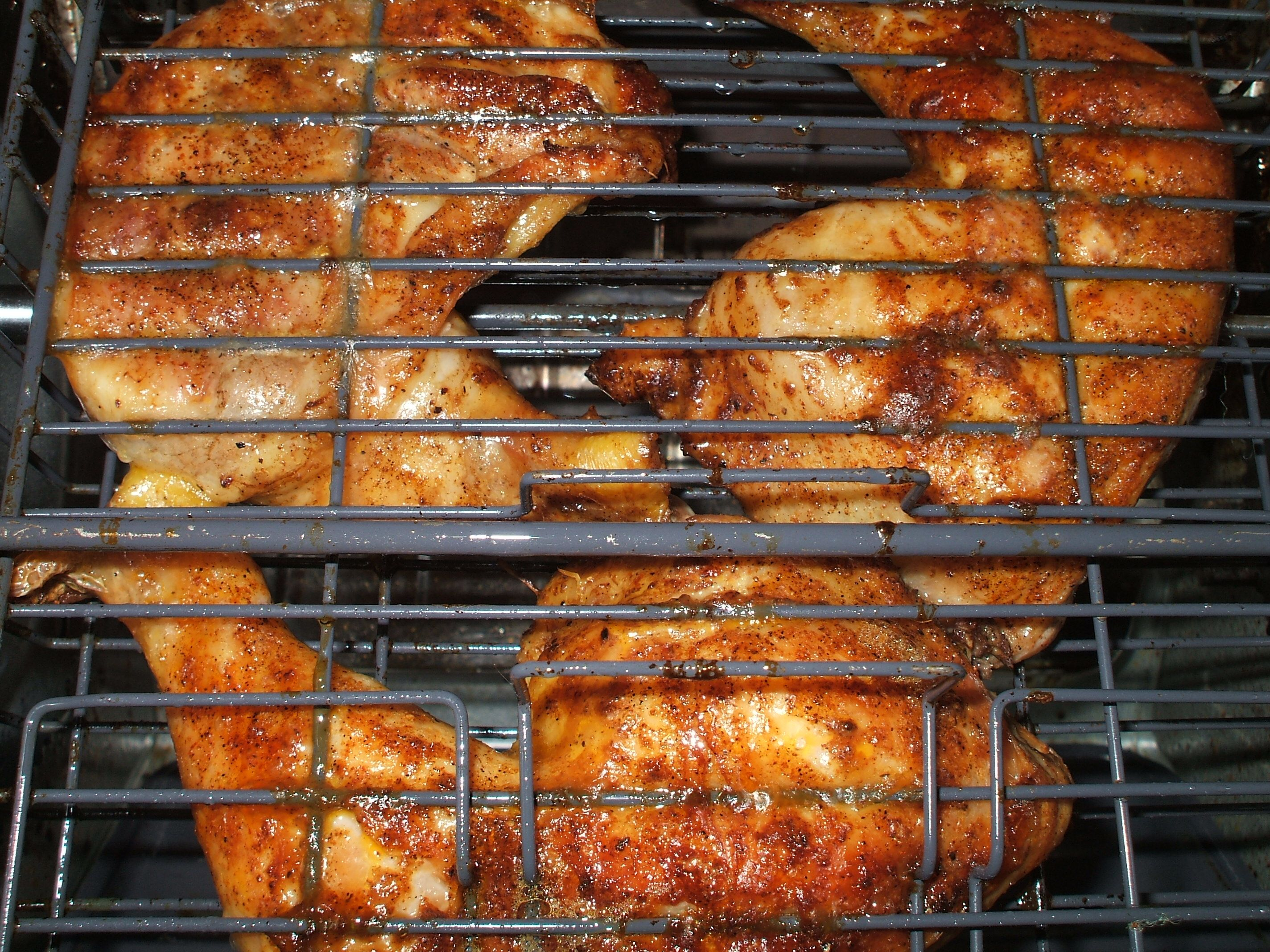Showtime Rotisserie Doing Some Seasoned Chicken Legs Set It And Forget It Pork Loin Rotisserie Recipe Pork Loin Recipes Best Pork Recipe