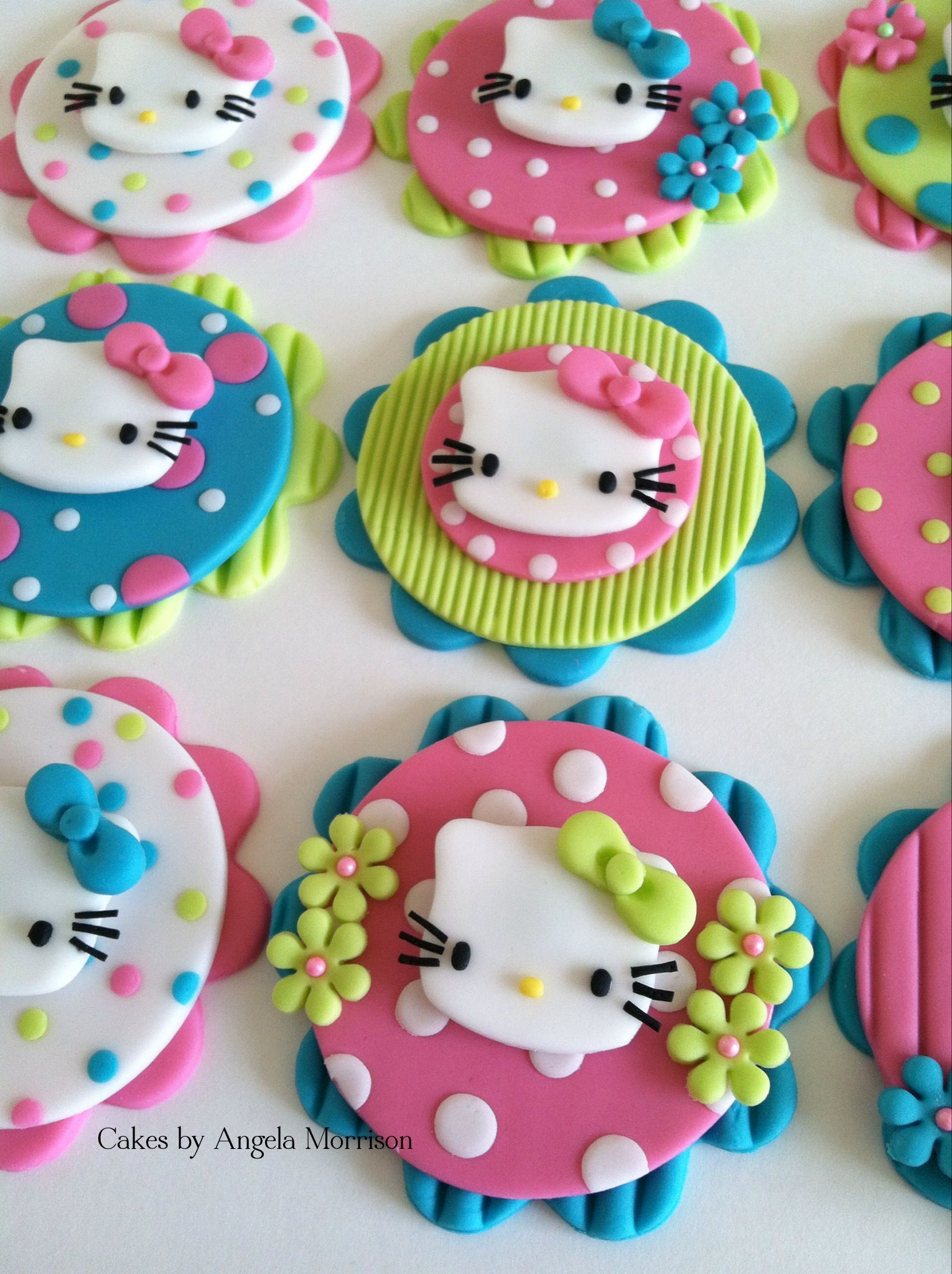 hello kitty cake cookie toppers cupcake cookie toppers. Black Bedroom Furniture Sets. Home Design Ideas