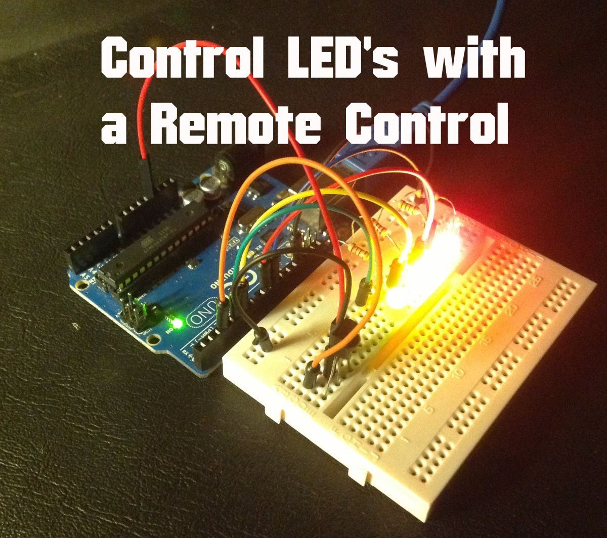 Arduino Control Leds With Ir Remote Electronics Cool Circuit Projects