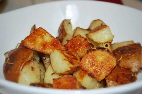 Perfect Rosemary Roasted Potatoes!