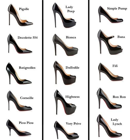 Shoes Heels ♡Footwears Different Of Lovely♡ Types KJFcl1
