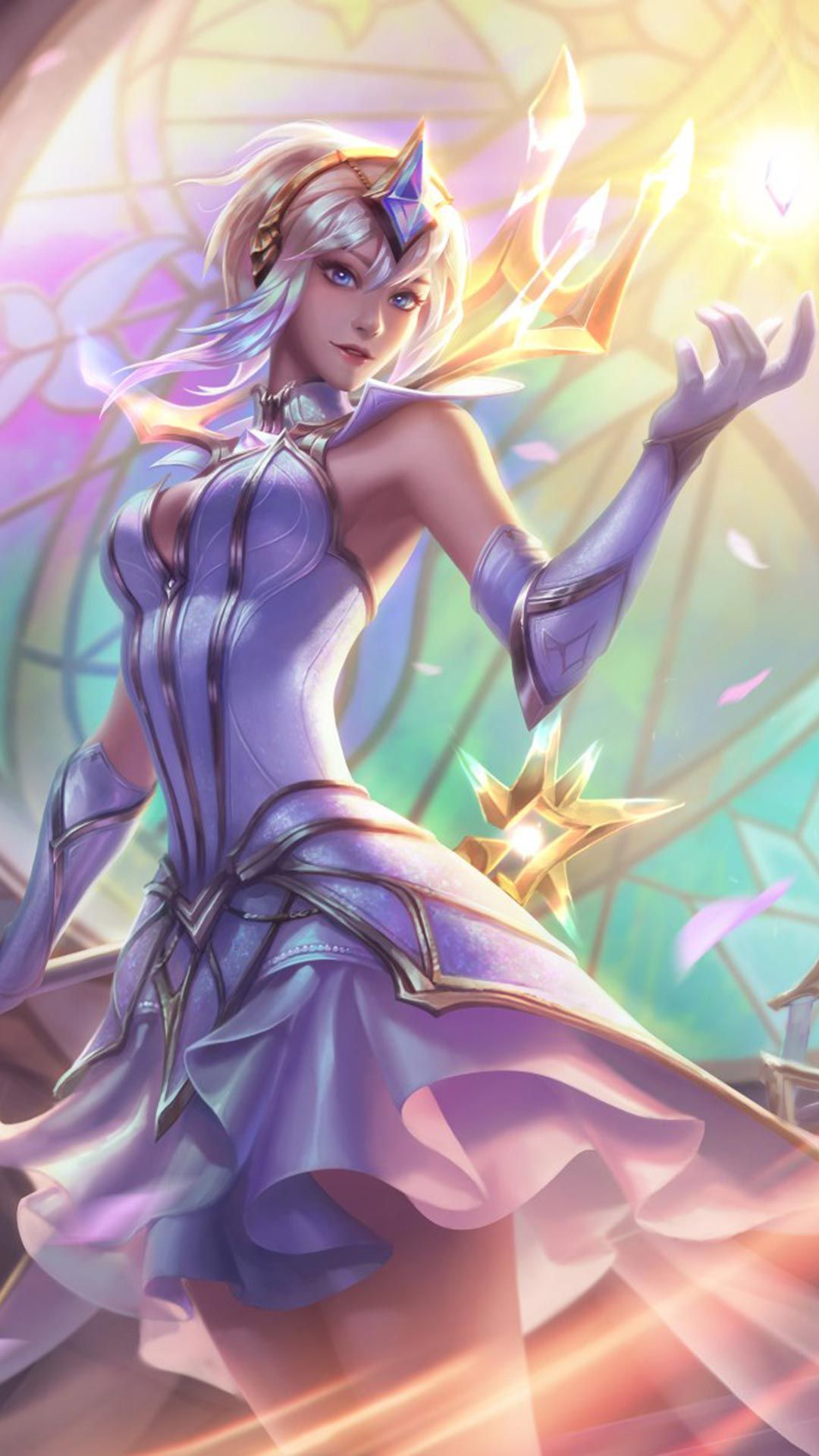Ultimate Skin Elementalist Lux Android Iphone Wallpaper Mobile