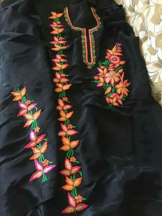 Pin By Param Channi On Bittu Embroidery Designs Embroidery Suits