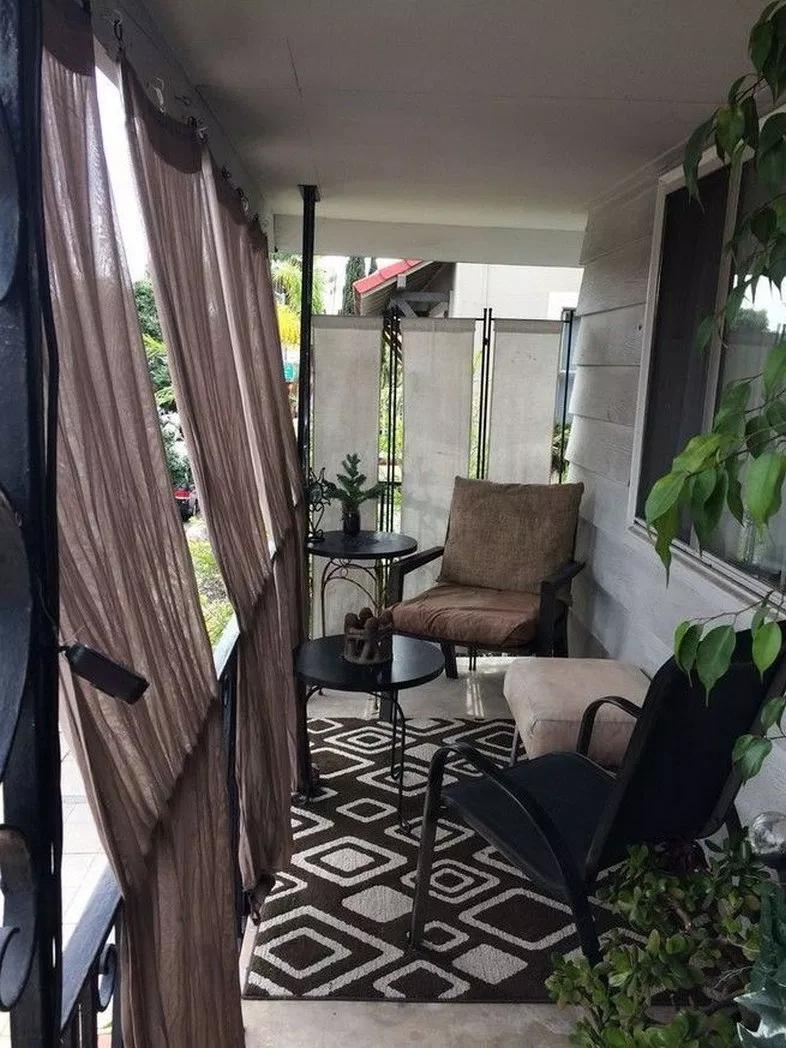 65+ comfy apartment balcony decorating ideas on a budget ...