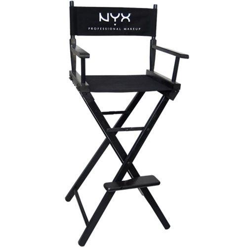 Makeup Artist Director S Chair Nyx Cosmetics Makeup Artist Kit Makeup Artist Chair Makeup Artist Tips