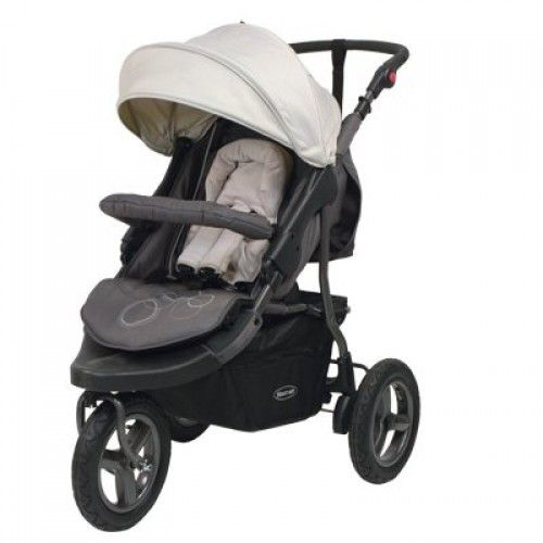 STEELCRAFT BRITAX Eclipse Terrain 3 Wheel Travel System Pram ...