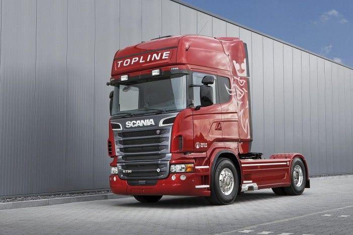 Camion Scania Rojo Camiones Chulos Camiones Camiones Grandes