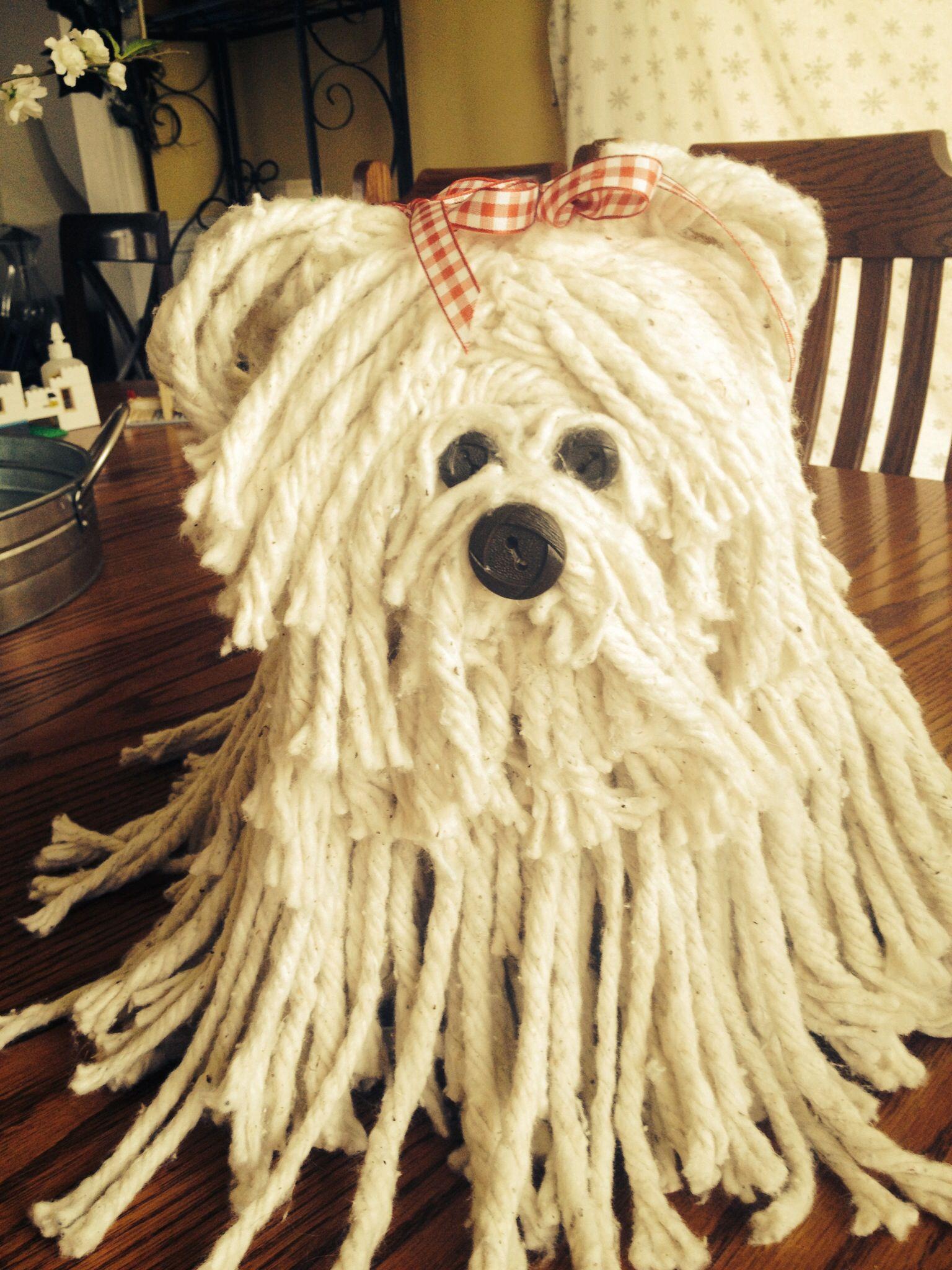 Mop Dog Valentines Day Box  Valentines Day  Pinterest  Mop dog