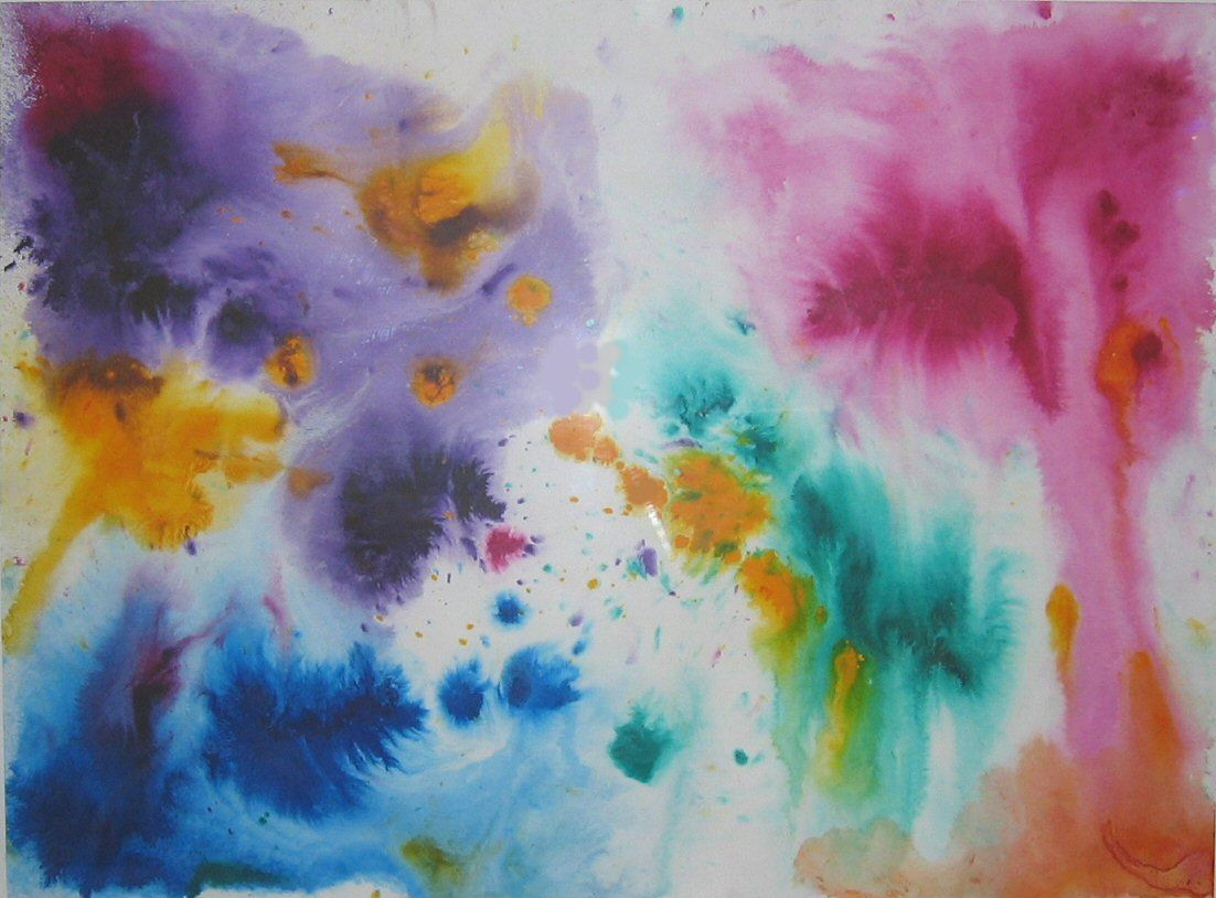 Watercolor Abstract 1 HD Wallpaper | milliwall | 2015-16 Yearbook ...