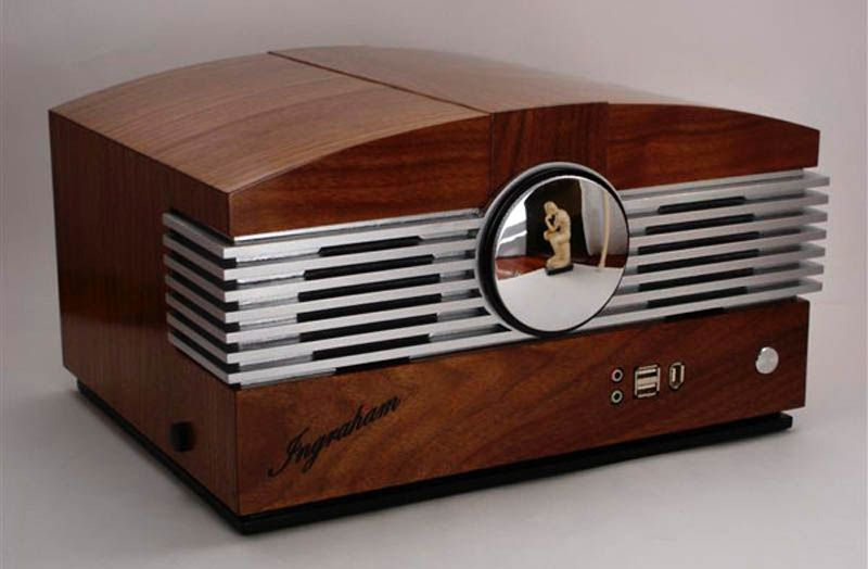 The Ingraham Case Mod, inspired by a 1946 Stromberg-Carlson radio ...
