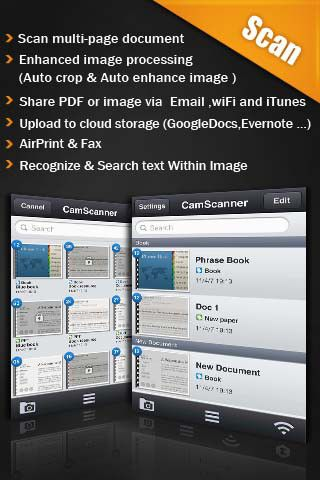 CamScanner iPhone and iPad app by IntSig Information Co