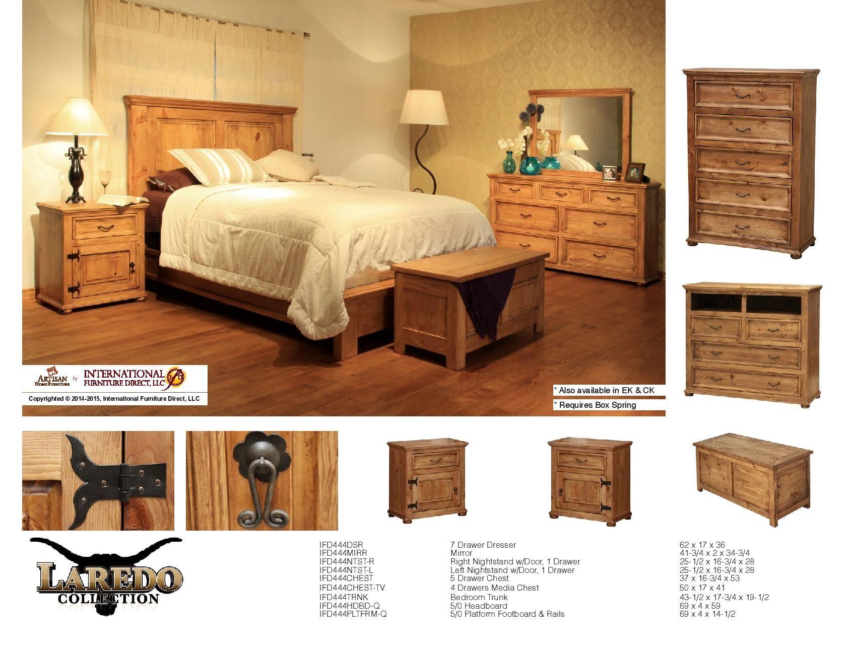 International Furniture Direct Bedroom Furniture