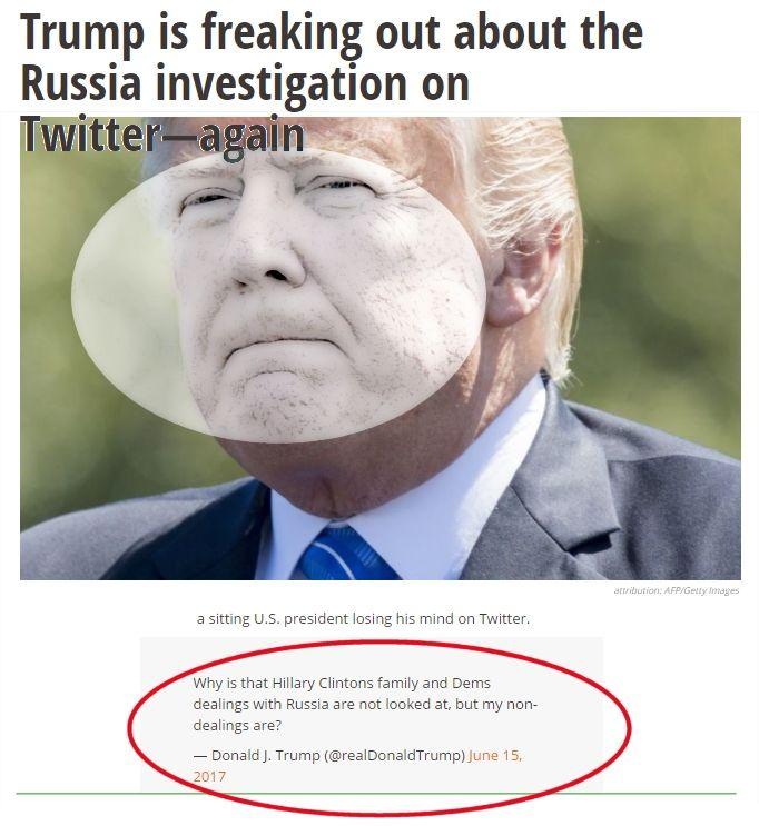 Trump is scared stiff.. No you, Me no