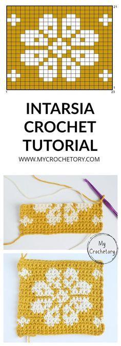 How To Do Intarsia Crochet Free Tutorial For Beginner Pattern