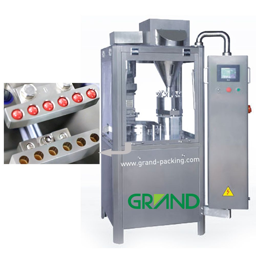 Njp 600 Full Automatic Powder Capsule Filling Machine Making Machine Gelatin Capsules Capsule