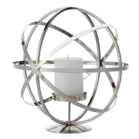 Atlas Pillar Holder - Silver from Z Gallerie-$29.95 ...