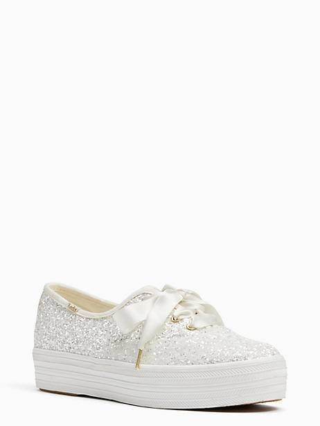 9810b8725b7c1 Keds X Kate Spade New York Triple Glitter Sneakers