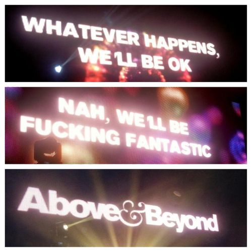 Above & Beyond at UMF 2013. I remember seeing this ️ #1 ...