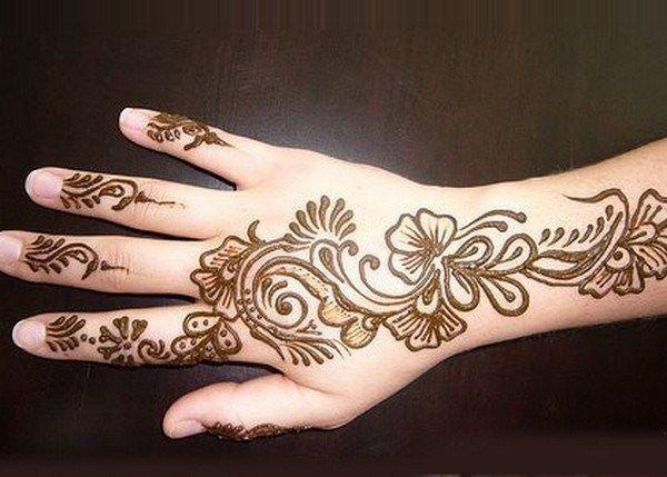 Mehndi Patterns Arabic : Arabic mehndi pattern henna tatoo pinterest patterns