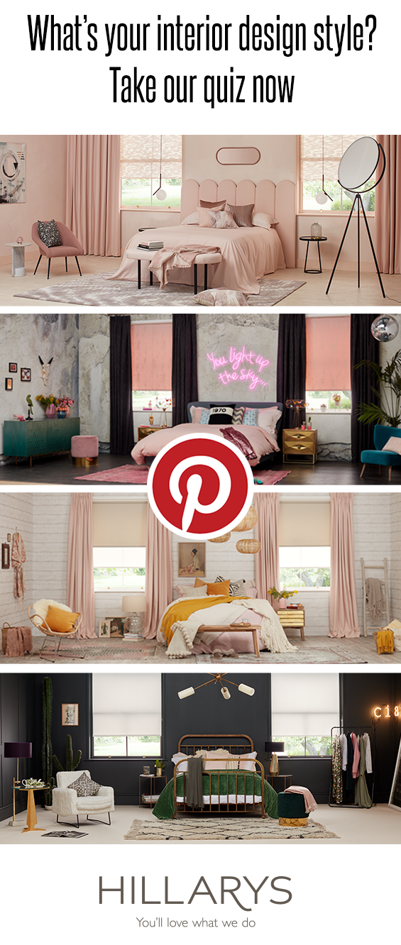 One room four inspirational looks take our fun quiz to - Interior design quiz personality ...