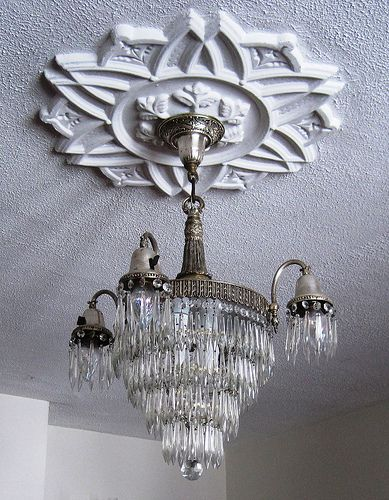 Plaster Ceiling Medallion With Antique Chandelier Ceiling Medallions Antique Chandelier Plaster Ceiling