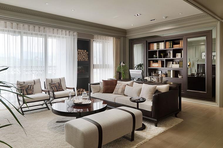 Colores calidos para el sal n 50 ideas impresionantes for Sala design moderno