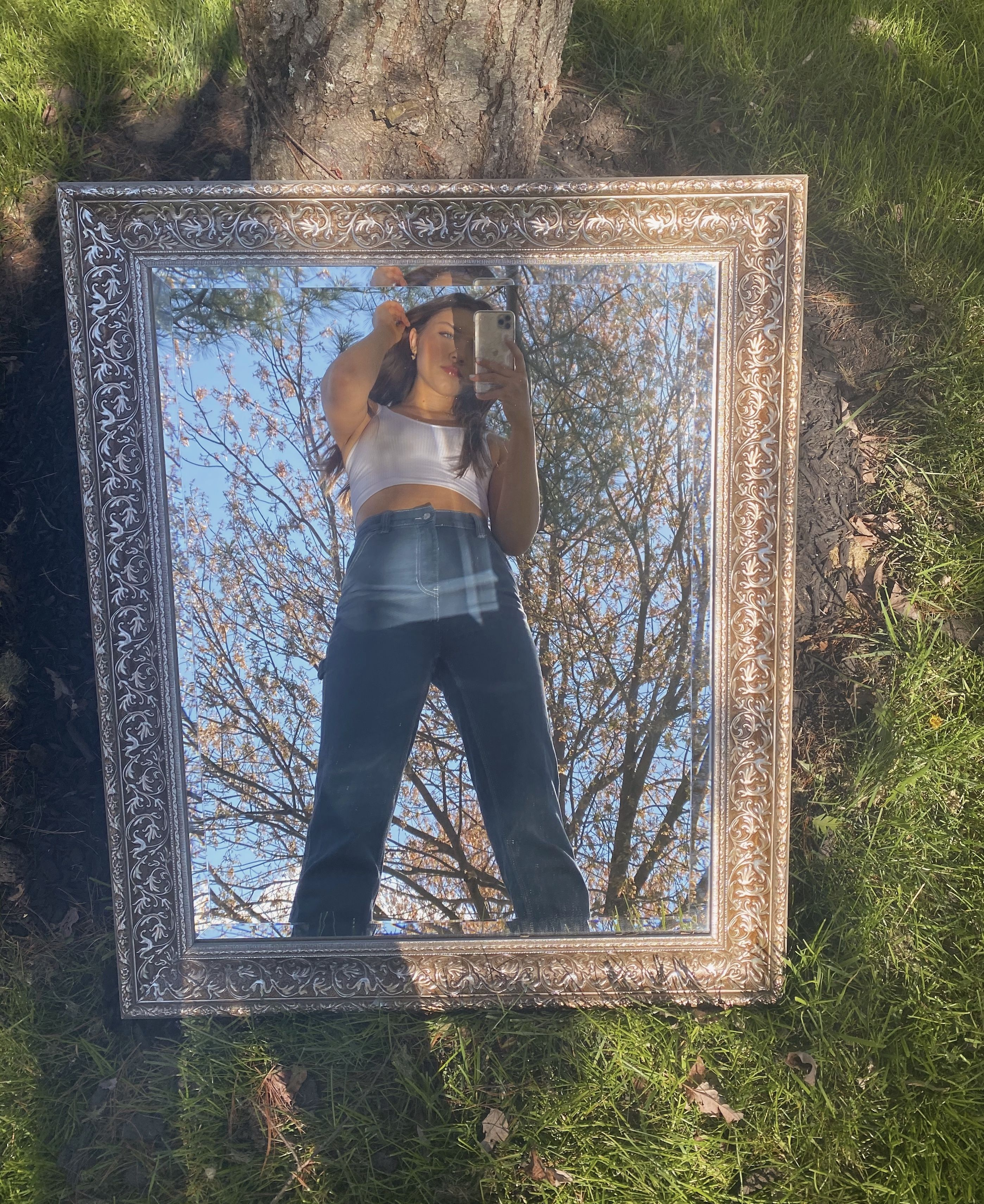Mirror Picture Outdoors Outdoor Mirror Mirror Photography Instagram Ideas Photography