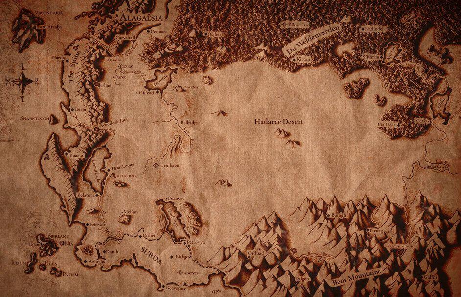 Eragon Karte.Eragon Alagesia Map Karte Eragon Karten Und Blog