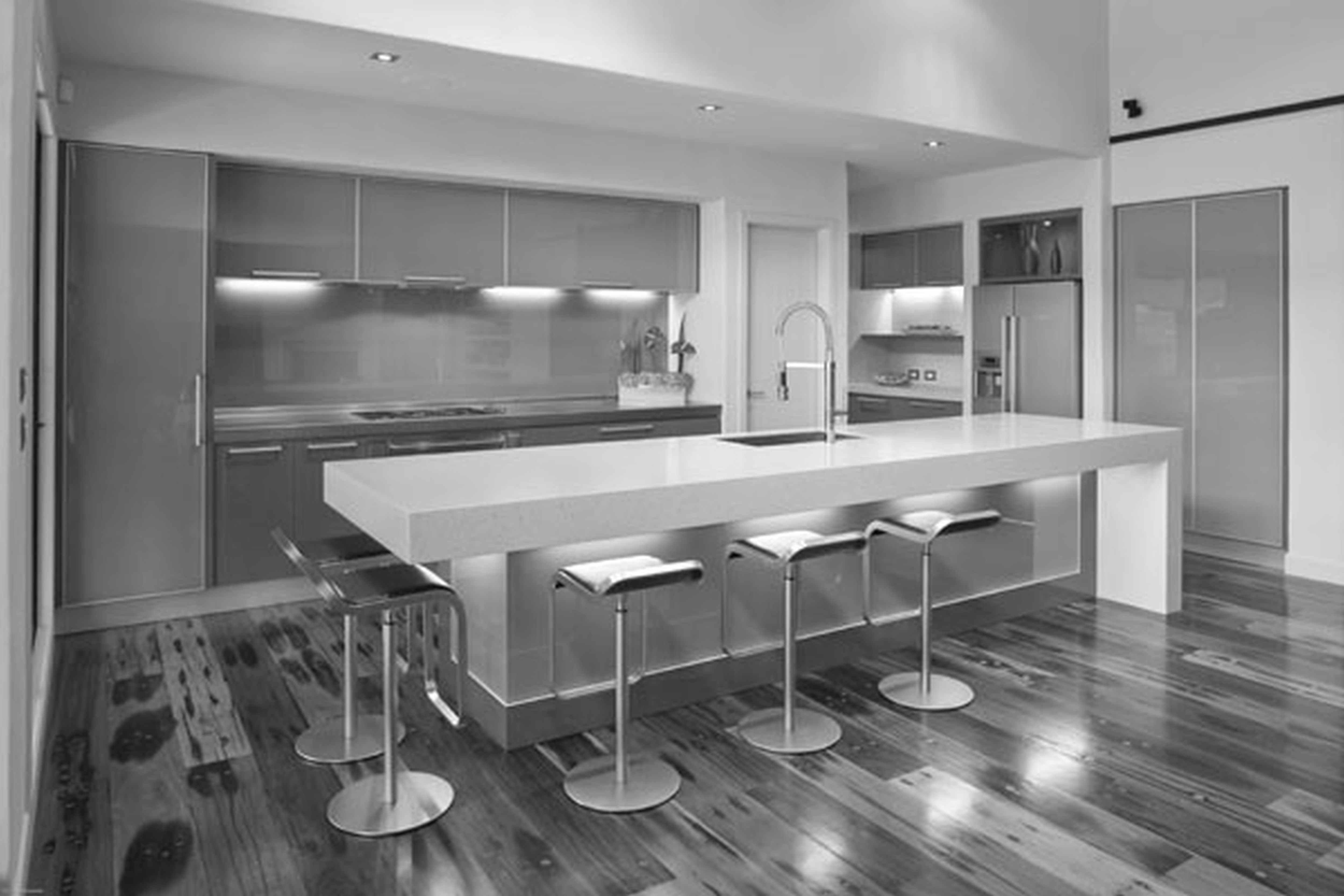 trend modern kitchen design ideas with kitchen island ideas with contemporary kitchen on kitchen decor themes modern id=74409