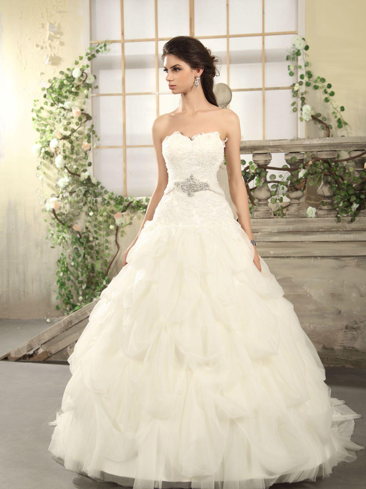 Blinged out wedding dress  Wedding Dress Stunning ball gown  Wedding Fun  Pinterest