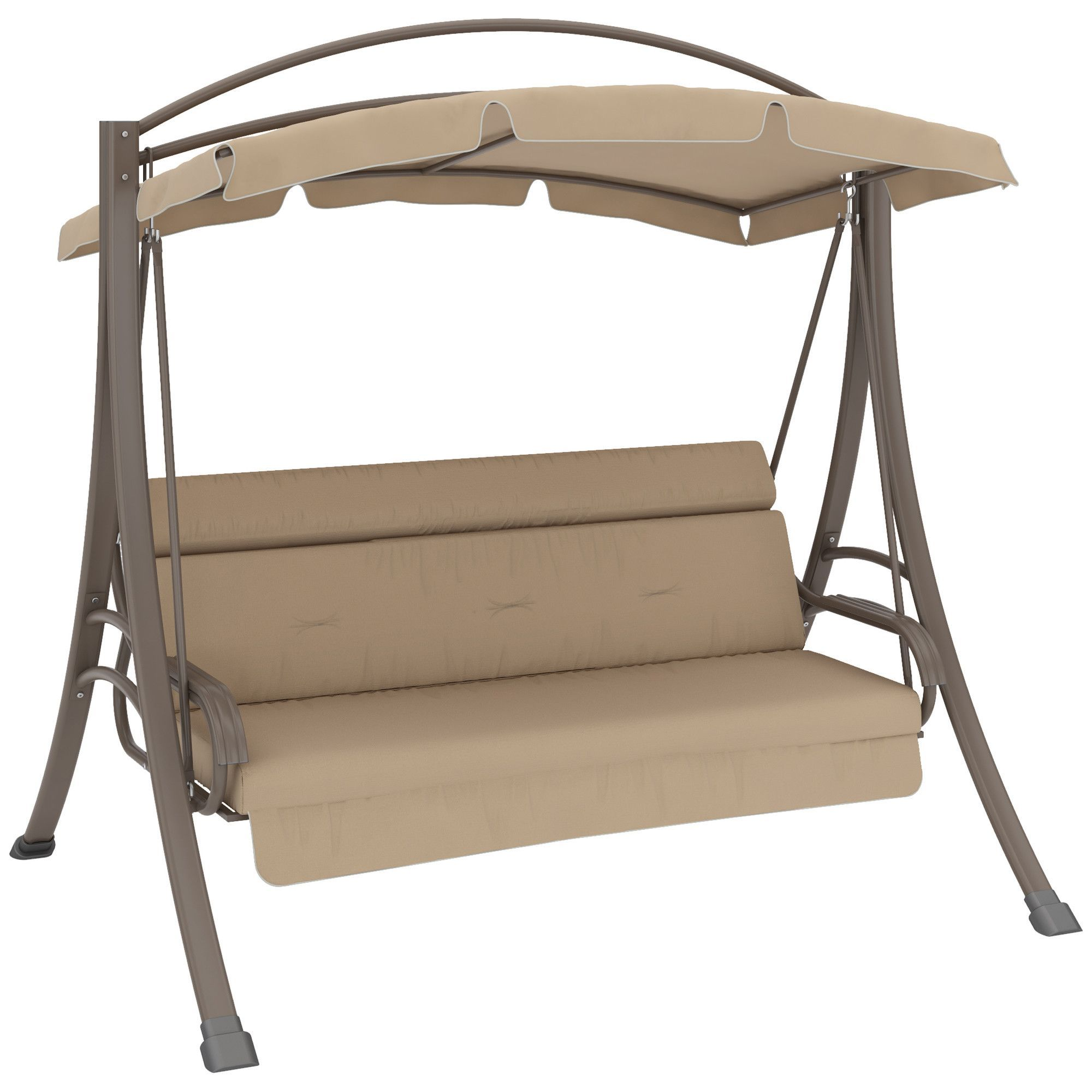 Nantucket Porch Swing With Arched Canopy Products