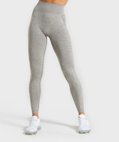 Gymshark Flex High Waisted Leggings - Khaki Marl/Taupe