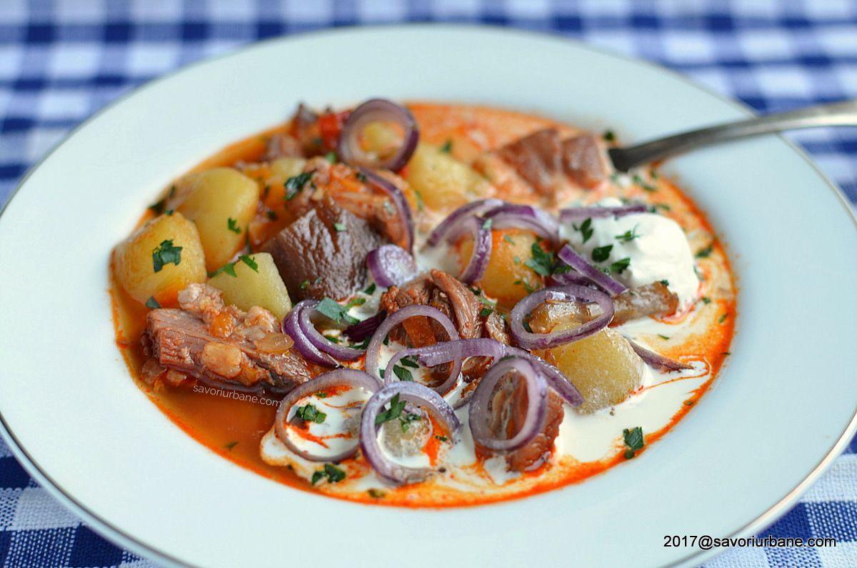 Ciorba De Cartofi Cu Afumatura Reteta Ardeleneasca Savori Urbane Recipe Food Fast Easy Meals Recipes