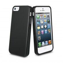 Housse MiniGel Muvit iPhone 5 - Noir  7,99 €