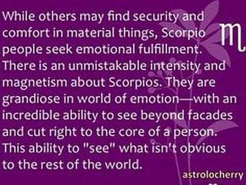 Capricorn man dating en Scorpio kvinna
