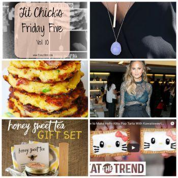 Friday Five – Vol 10 #fcnextdoor #favorites #chrissyteigen #popsugar #food #recipes #hellokitty #necklaces #pinterest