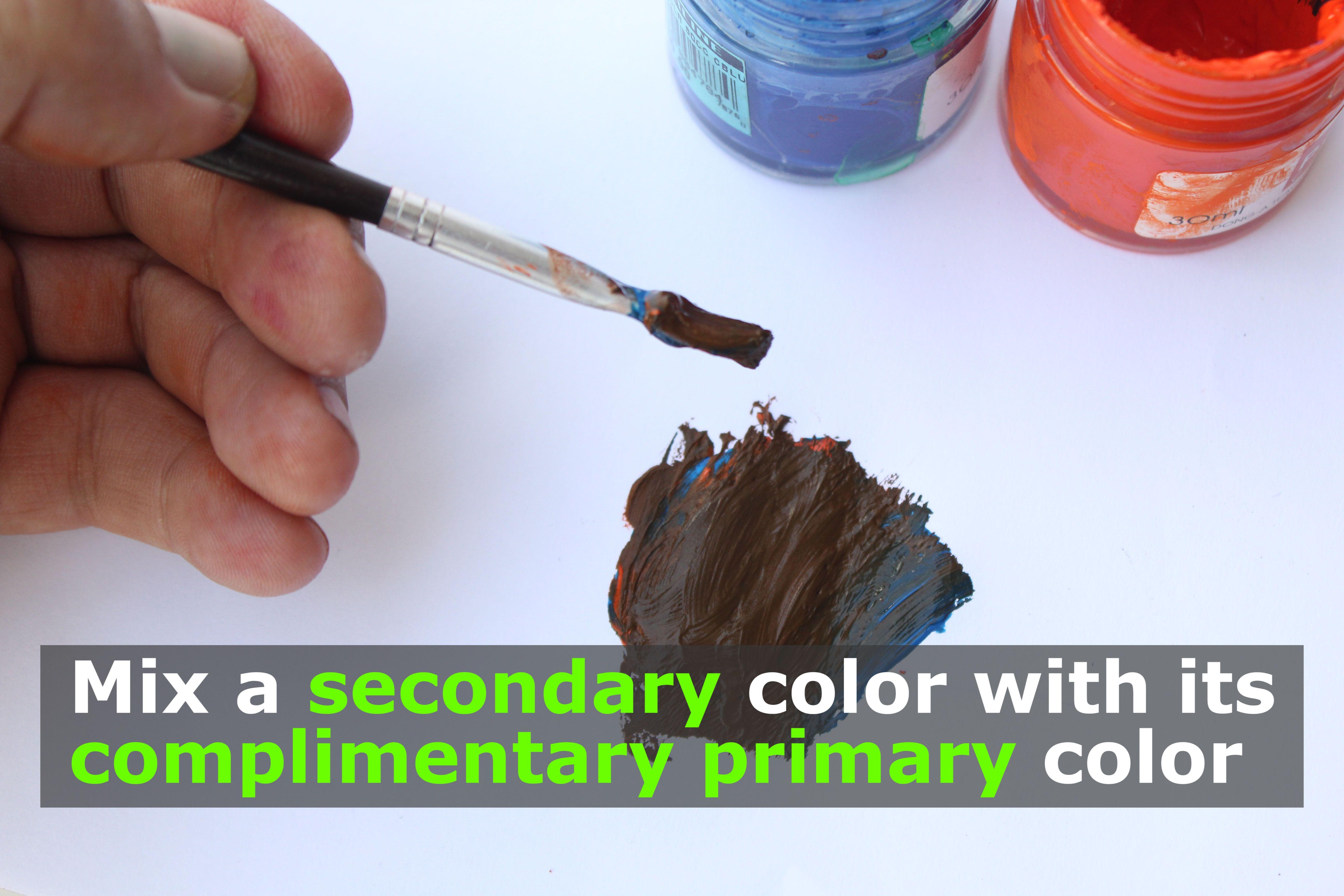 Comment Faire La Couleur Marron En Peinture